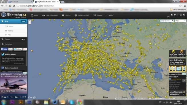 radar europa