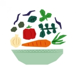 polygonal-salad-vector-illustration_23-2147496172